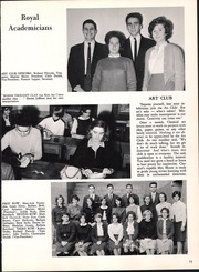 Page 77, 1963 Edition, Classical High School - Caduceus Yearbook (Providence, RI) online yearbook collection