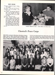 Page 78, 1963 Edition, Classical High School - Caduceus Yearbook (Providence, RI) online yearbook collection