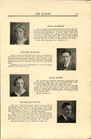 Page 13, 1933 Edition, Woonsocket High School - Quiver Yearbook (Woonsocket, RI) online yearbook collection