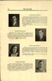 Page 14, 1933 Edition, Woonsocket High School - Quiver Yearbook (Woonsocket, RI) online yearbook collection