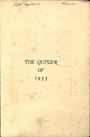 Page 3, 1933 Edition, Woonsocket High School - Quiver Yearbook (Woonsocket, RI) online yearbook collection