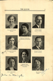 Page 7, 1933 Edition, Woonsocket High School - Quiver Yearbook (Woonsocket, RI) online yearbook collection