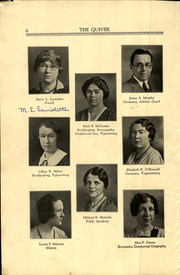Page 8, 1933 Edition, Woonsocket High School - Quiver Yearbook (Woonsocket, RI) online yearbook collection