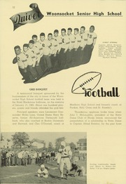 Page 16, 1945 Edition, Woonsocket High School - Quiver Yearbook (Woonsocket, RI) online yearbook collection