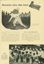 Page 17, 1945 Edition, Woonsocket High School - Quiver Yearbook (Woonsocket, RI) online yearbook collection