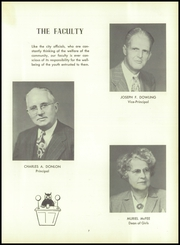 Page 11, 1954 Edition, Woonsocket High School - Quiver Yearbook (Woonsocket, RI) online yearbook collection