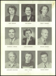 Page 12, 1954 Edition, Woonsocket High School - Quiver Yearbook (Woonsocket, RI) online yearbook collection