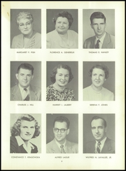 Page 13, 1954 Edition, Woonsocket High School - Quiver Yearbook (Woonsocket, RI) online yearbook collection