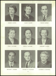 Page 14, 1954 Edition, Woonsocket High School - Quiver Yearbook (Woonsocket, RI) online yearbook collection