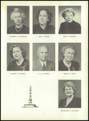 Page 15, 1954 Edition, Woonsocket High School - Quiver Yearbook (Woonsocket, RI) online yearbook collection