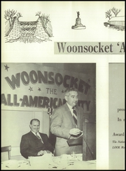 Page 6, 1954 Edition, Woonsocket High School - Quiver Yearbook (Woonsocket, RI) online yearbook collection