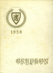 Page 1, 1958 Edition, Warwick Veterans Memorial High School - Gryphon Yearbook (Warwick, RI) online yearbook collection