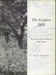 Page 7, 1959 Edition, Warwick Veterans Memorial High School - Gryphon Yearbook (Warwick, RI) online yearbook collection