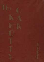 1950 Edition, Coventry High School - Knotty Oak Yearbook (Coventry, RI)