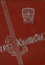 1953 Edition, Coventry High School - Knotty Oak Yearbook (Coventry, RI)