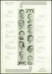 Page 10, 1939 Edition, Mount Pleasant High School - Netop Yearbook (Providence, RI) online yearbook collection