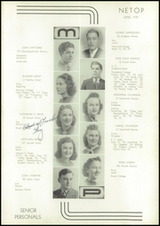 Page 3, 1939 Edition, Mount Pleasant High School - Netop Yearbook (Providence, RI) online yearbook collection