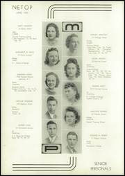 Page 8, 1939 Edition, Mount Pleasant High School - Netop Yearbook (Providence, RI) online yearbook collection