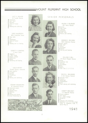 Page 13, 1941 Edition, Mount Pleasant High School - Netop Yearbook (Providence, RI) online yearbook collection