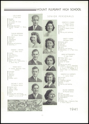 Page 15, 1941 Edition, Mount Pleasant High School - Netop Yearbook (Providence, RI) online yearbook collection