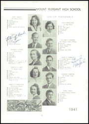 Page 17, 1941 Edition, Mount Pleasant High School - Netop Yearbook (Providence, RI) online yearbook collection