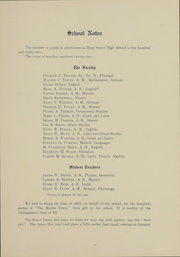 Page 10, 1904 Edition, Hope High School - Blue and White Yearbook (Providence, RI) online yearbook collection
