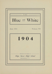 Page 4, 1904 Edition, Hope High School - Blue and White Yearbook (Providence, RI) online yearbook collection