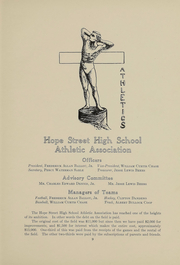 Page 10, 1912 Edition, Hope High School - Blue and White Yearbook (Providence, RI) online yearbook collection
