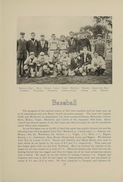 Page 12, 1912 Edition, Hope High School - Blue and White Yearbook (Providence, RI) online yearbook collection