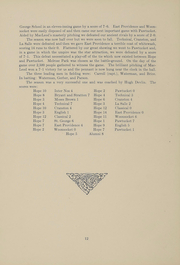 Page 13, 1912 Edition, Hope High School - Blue and White Yearbook (Providence, RI) online yearbook collection