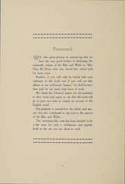 Page 7, 1912 Edition, Hope High School - Blue and White Yearbook (Providence, RI) online yearbook collection
