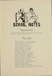 Page 8, 1912 Edition, Hope High School - Blue and White Yearbook (Providence, RI) online yearbook collection
