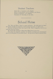Page 9, 1912 Edition, Hope High School - Blue and White Yearbook (Providence, RI) online yearbook collection