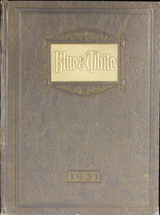Page 1, 1931 Edition, Hope High School - Blue and White Yearbook (Providence, RI) online yearbook collection