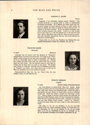 Page 10, 1931 Edition, Hope High School - Blue and White Yearbook (Providence, RI) online yearbook collection