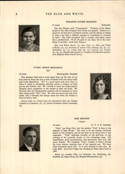 Page 12, 1931 Edition, Hope High School - Blue and White Yearbook (Providence, RI) online yearbook collection