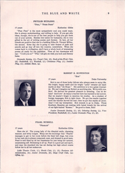 Page 13, 1931 Edition, Hope High School - Blue and White Yearbook (Providence, RI) online yearbook collection