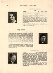 Page 16, 1931 Edition, Hope High School - Blue and White Yearbook (Providence, RI) online yearbook collection