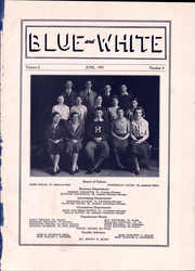 Page 5, 1931 Edition, Hope High School - Blue and White Yearbook (Providence, RI) online yearbook collection
