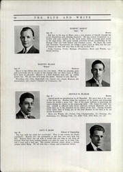 Page 14, 1935 Edition, Hope High School - Blue and White Yearbook (Providence, RI) online yearbook collection