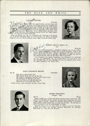 Page 15, 1935 Edition, Hope High School - Blue and White Yearbook (Providence, RI) online yearbook collection