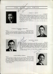 Page 16, 1935 Edition, Hope High School - Blue and White Yearbook (Providence, RI) online yearbook collection