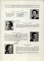 Page 17, 1935 Edition, Hope High School - Blue and White Yearbook (Providence, RI) online yearbook collection