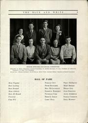 Page 9, 1935 Edition, Hope High School - Blue and White Yearbook (Providence, RI) online yearbook collection