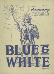 1940 Edition, Hope High School - Blue and White Yearbook (Providence, RI)