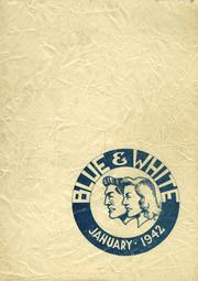 1942 Edition, Hope High School - Blue and White Yearbook (Providence, RI)