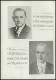 Page 6, 1942 Edition, Hope High School - Blue and White Yearbook (Providence, RI) online yearbook collection