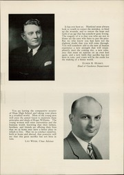 Page 11, 1944 Edition, Hope High School - Blue and White Yearbook (Providence, RI) online yearbook collection