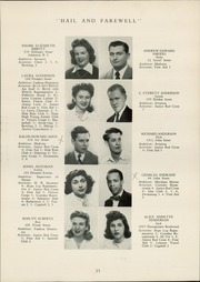 Page 15, 1944 Edition, Hope High School - Blue and White Yearbook (Providence, RI) online yearbook collection