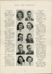 Page 17, 1944 Edition, Hope High School - Blue and White Yearbook (Providence, RI) online yearbook collection